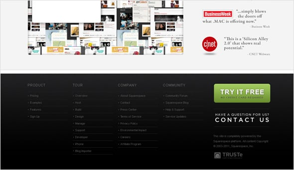 Website Footers: Modern Trends, Tips, Best Examples