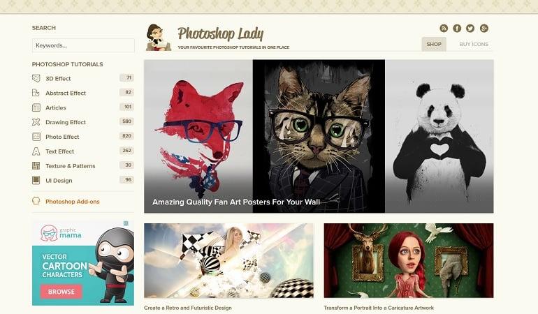 photoshop-tutorial-resources-lady