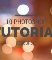 Photoshop tutorial resources - main image
