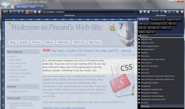 10 Best of Breed CSS Editors