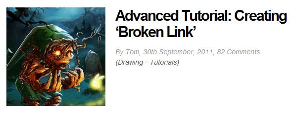 Advanced Tutorial: Creating 'Broken Link'