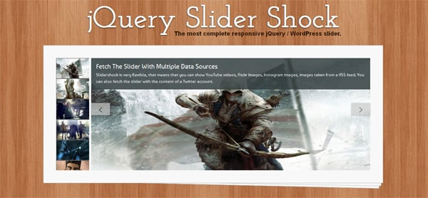 Free and Premium jQuery Image Slider Plugins