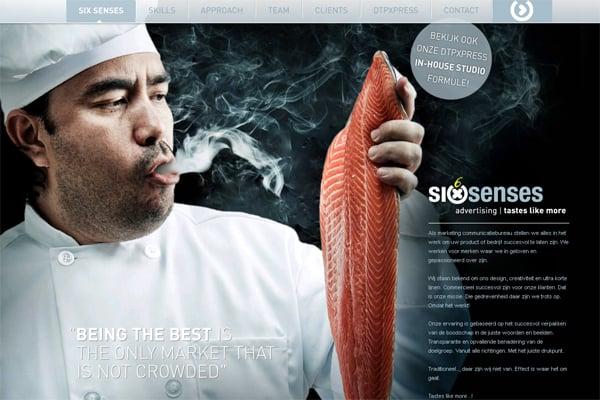 100 Smashing Websites with Background Photography