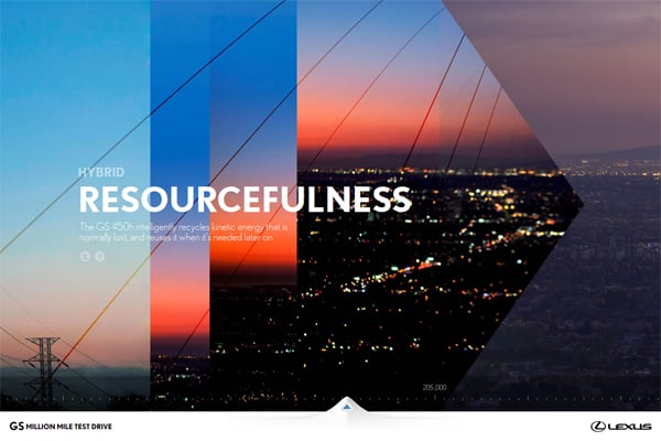 100 Smashing Websites with Full Size Image Background
