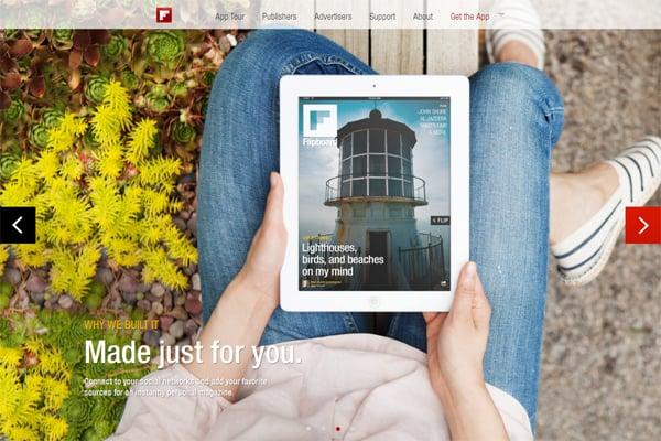 100 Smashing Websites with Large Background Images