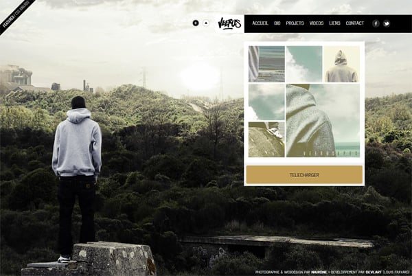 100 Smashing Websites with Full Size Image Background