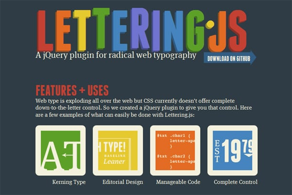 Take a Total Control of Your Website Typography: 15 Text Effect jQuery Plugins