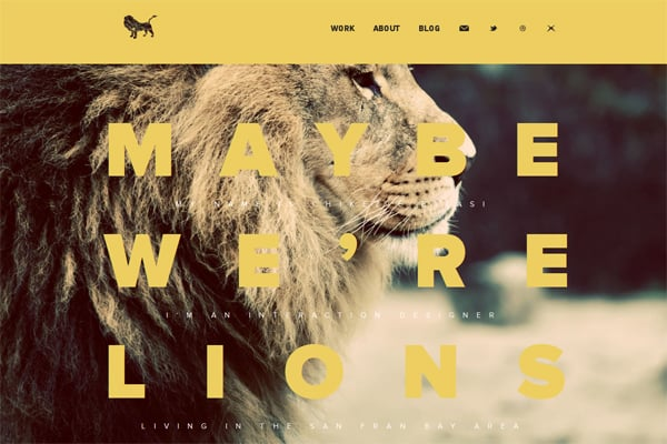 100 Smashing Websites That Use Image Backgrounds