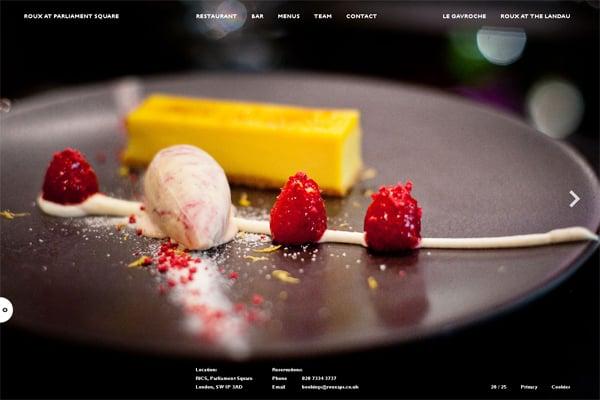 100 Smashing Websites with Photographic Background