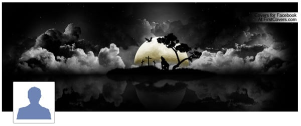 Halloween Night Profile Facebook Cover