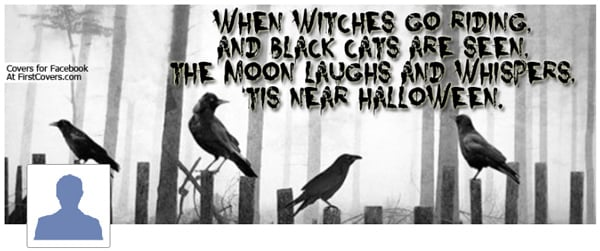 Halloween Qoute Facebook Cover