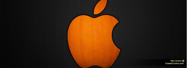 Halloween Apple Facebook Cover