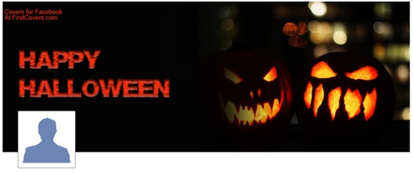 Happy Halloween Facebook Profile Cover