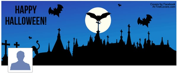 Happy Halloween Facebook Timeline Cover