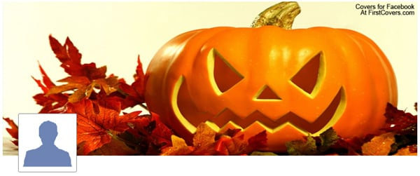 Pumpkin Facebook Profile Cover
