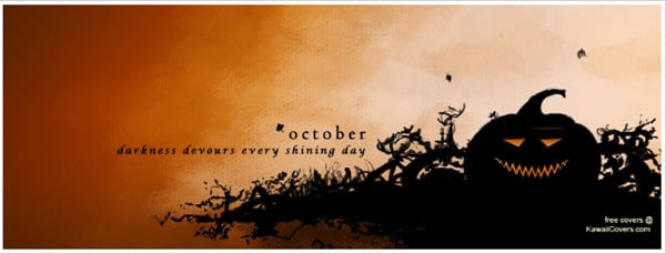 October Halloween Facebook Cover