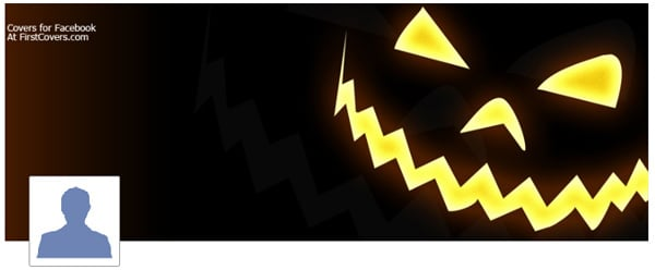 Jack o Lantern Facebook Profile Cover