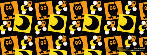 Halloween Owl Facebook Cover