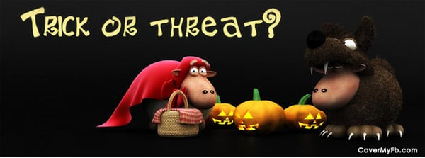 Trick or Treat Facebook Cover