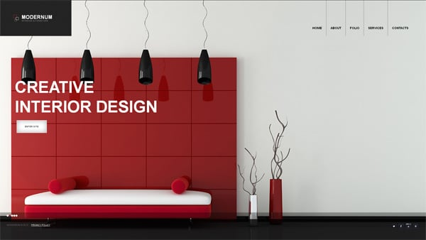 Interior Furniture Website Template