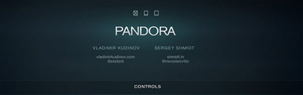 Pandora UI for iOS – User Interface Pack