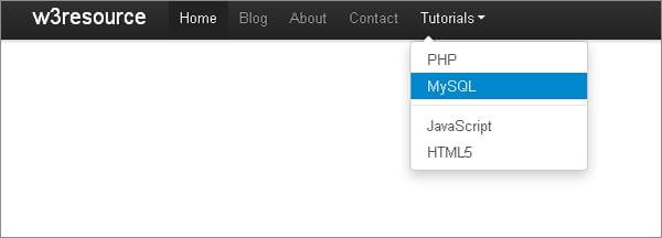 Bootstrap plugins: Twitter Bootstrap Dropdown JavaScript Plugin