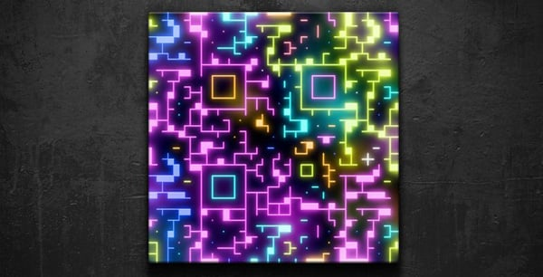 QR code design from 2012