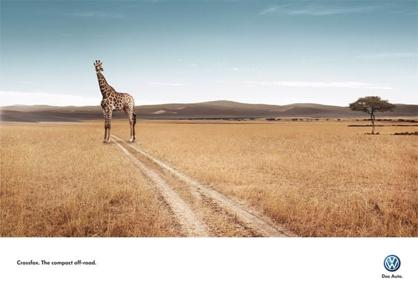 A Collection of Creative Print Ads