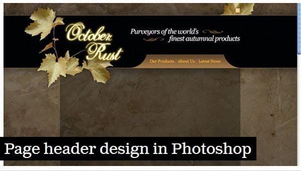 40 Tutorials - Web Design Edition