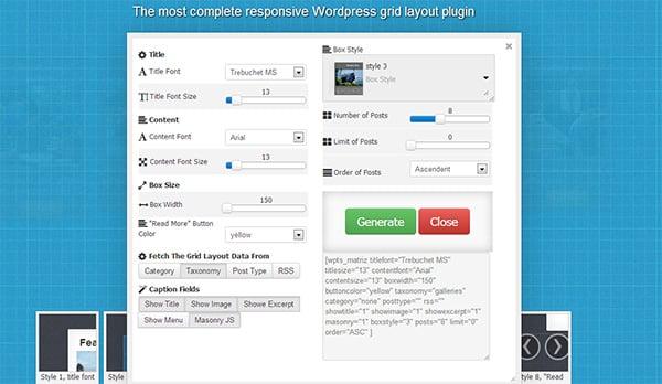 Grid Layout Shock: A New Plugin for WordPress to Create Impressive