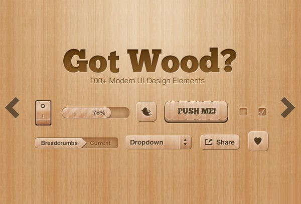 Download UI design tools PSD