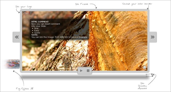 jQuery Carousel to Download