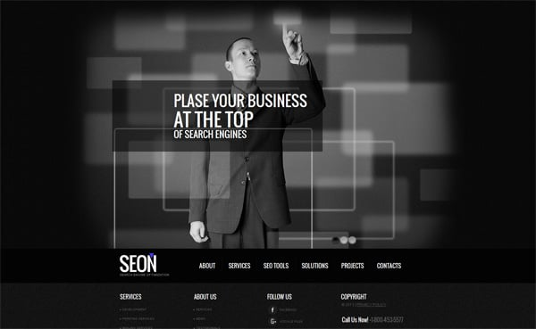 Website Templates with Large Background Galleries
