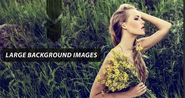 Website Templates with Large Background Images - How to Use Them Right