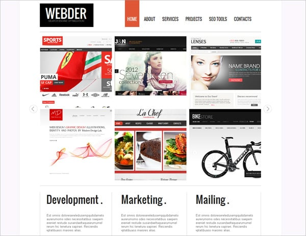 Style Website Templates - The Secret Side of the Latest Design Trend