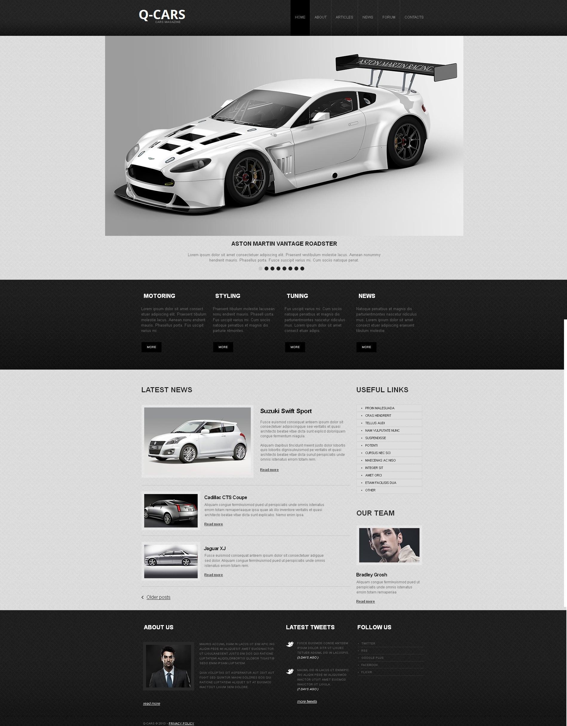 build a clean website design