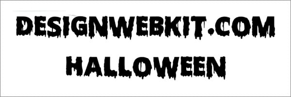 Scary Halloween Font