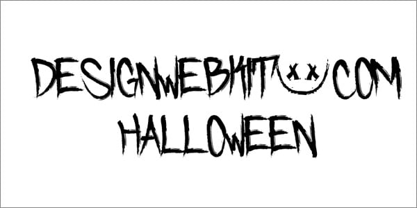 Free Halloween Fonts To Scare Your Website Visitors