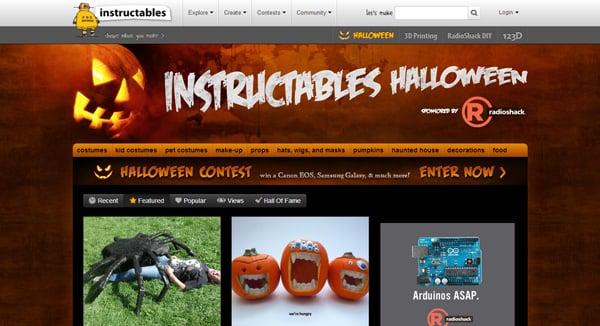Top 10 Halloween Web Design