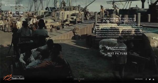 12 Years a Slave Movie Website