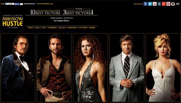 American Hustle Movie Website