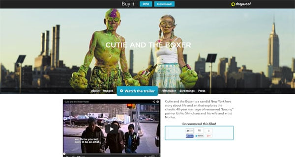 Cutie and the Boxer Official Movie Site