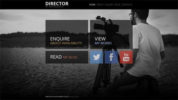 Elements in Website Templates Design
