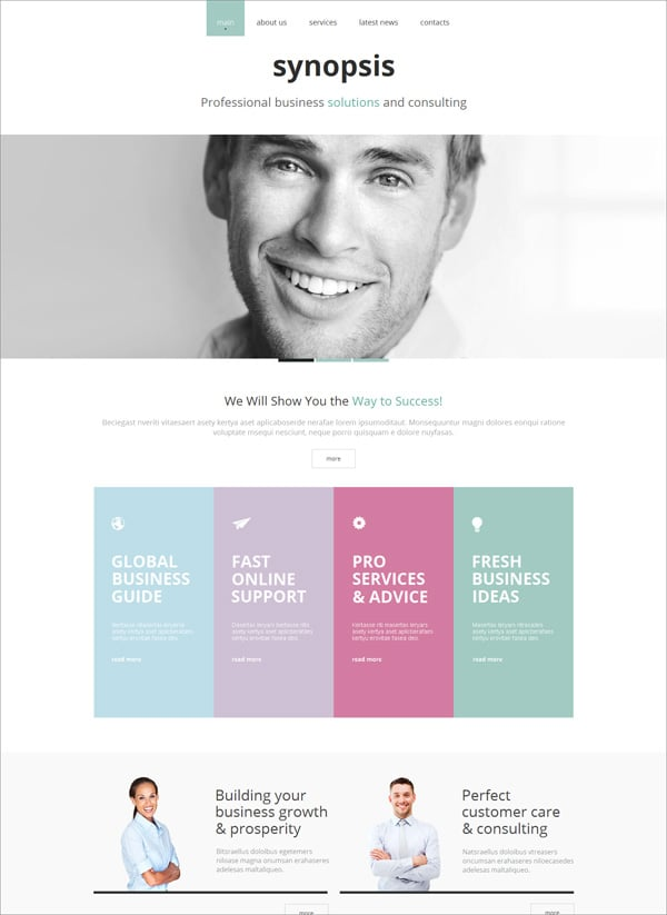 Website Templates in Pastel Colors - How to Use Them Right