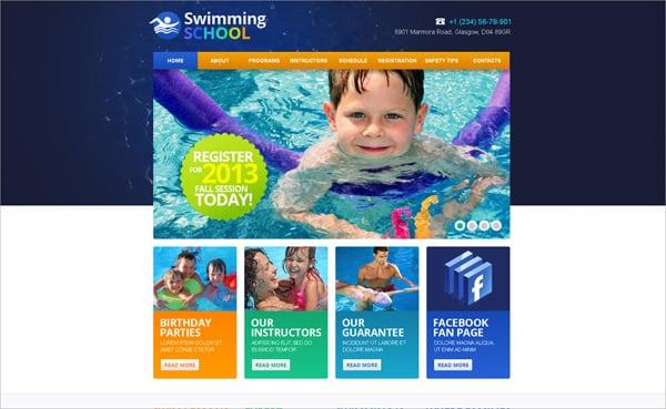 Sport Website Templates Serving Your Needs Online