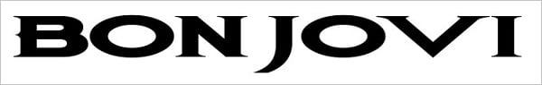 Bon Jovi Rock Font