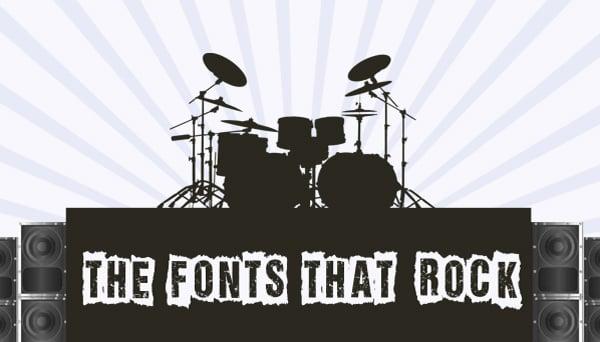 Free Rock Band Fonts