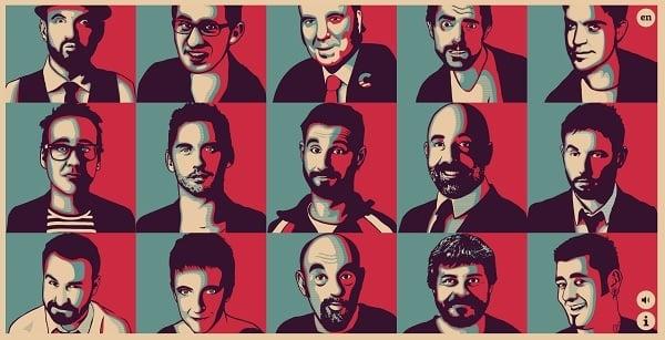 Pop Art Design Humoristas Pop Art