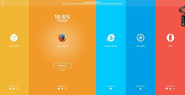 Outdated Browser