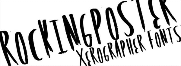 The Fonts that Rock: Collection of 44 Astonishing Free Rock Band Fonts